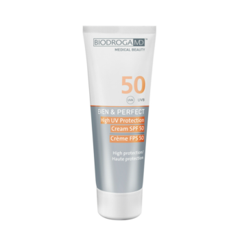 spf 50 uv protection even & perfect