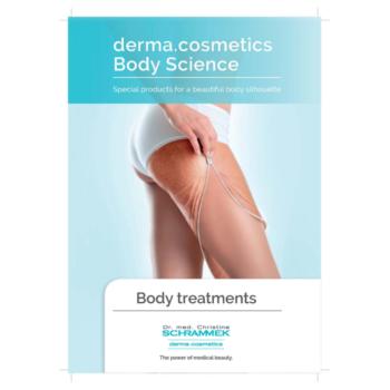 Esthetician breochure for body science treatments
