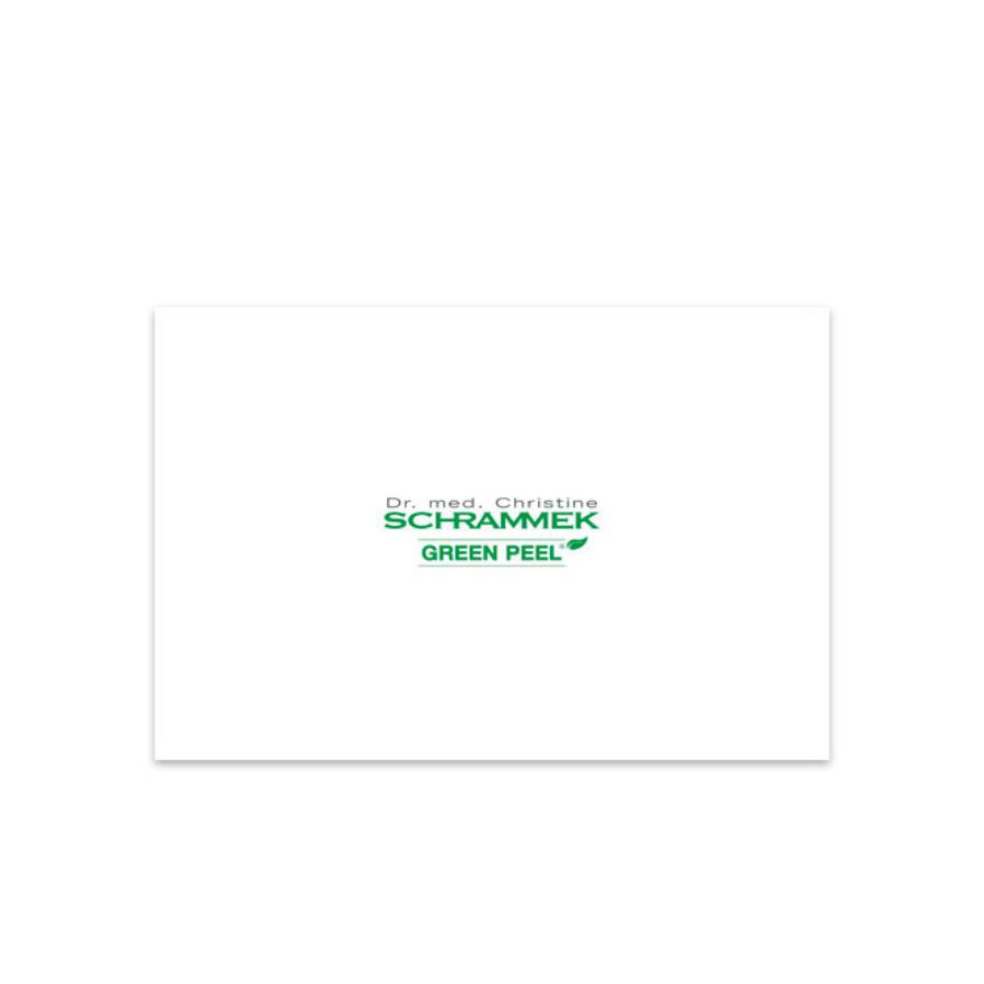Dr. Med. Schrammek GREEN PEEL® End Consumer Brochure 10pk
