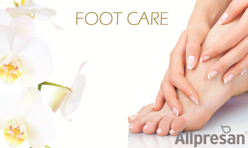 ALLPRESAN FOOT CARE BANNER FOR MAIN PAGE