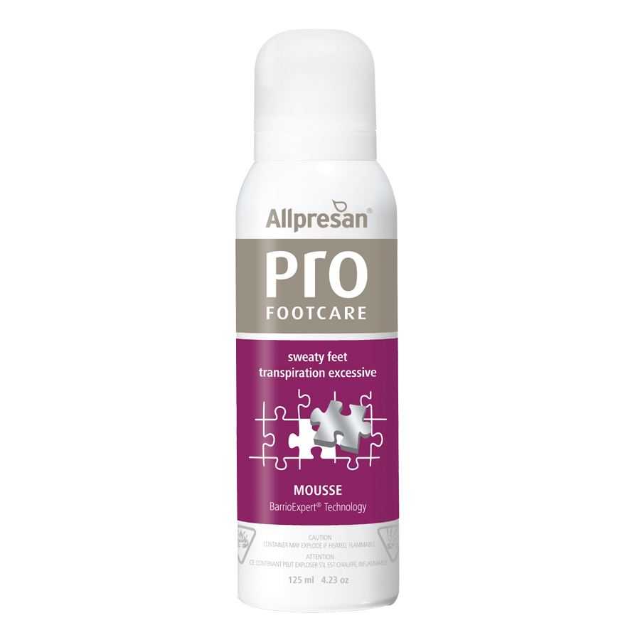 Allpresan Pro Footcare Sweaty Feet Foam/Mousse