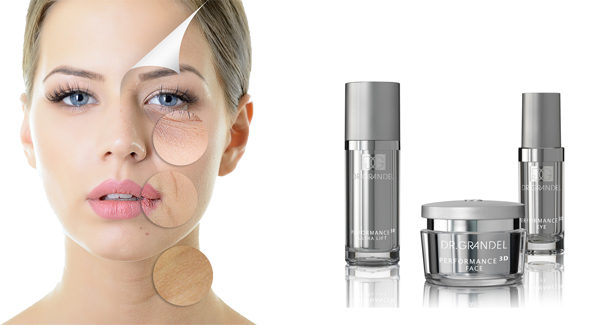 high performance skin care line for younger skin