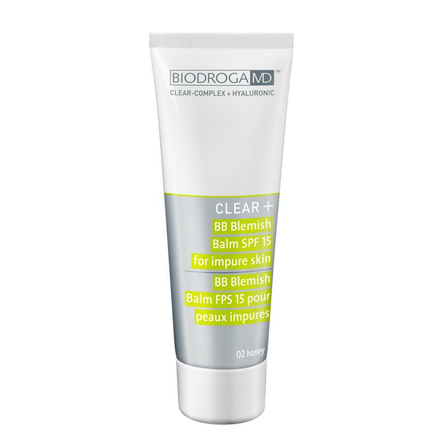Biodroga MD Clear+ Blemish Balm For Impure Skin Honey