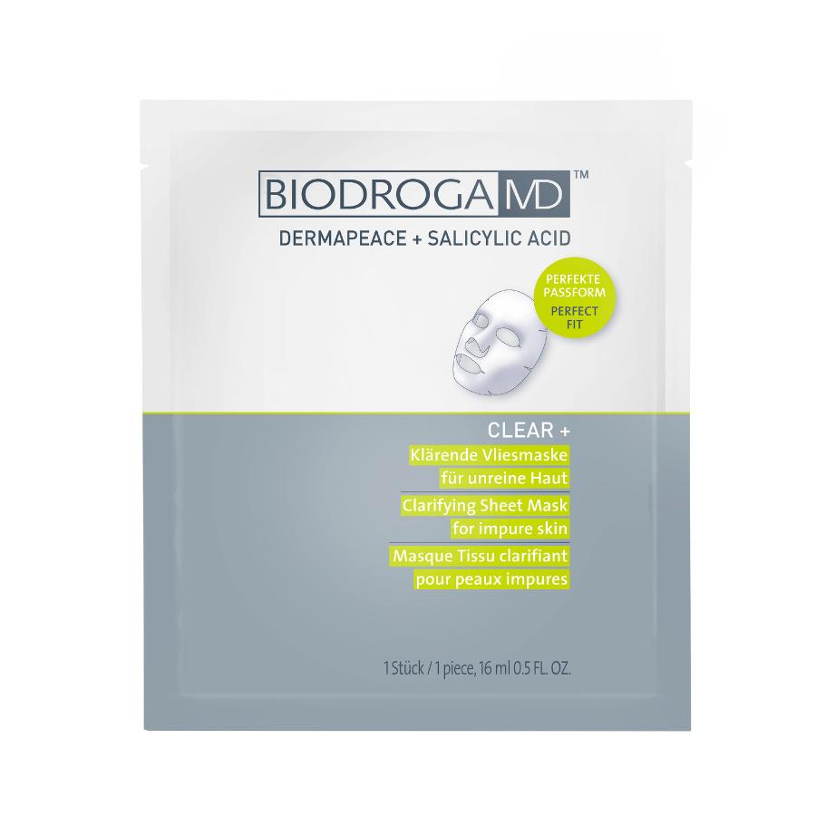 Biodroga MD Clear + Clarifying Sheet Mask For Impure Skin