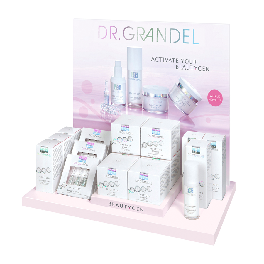 Dr. Grandel BeautyGen Display (empty)