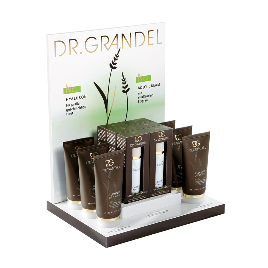 Dr. Grandel Body Cream Display