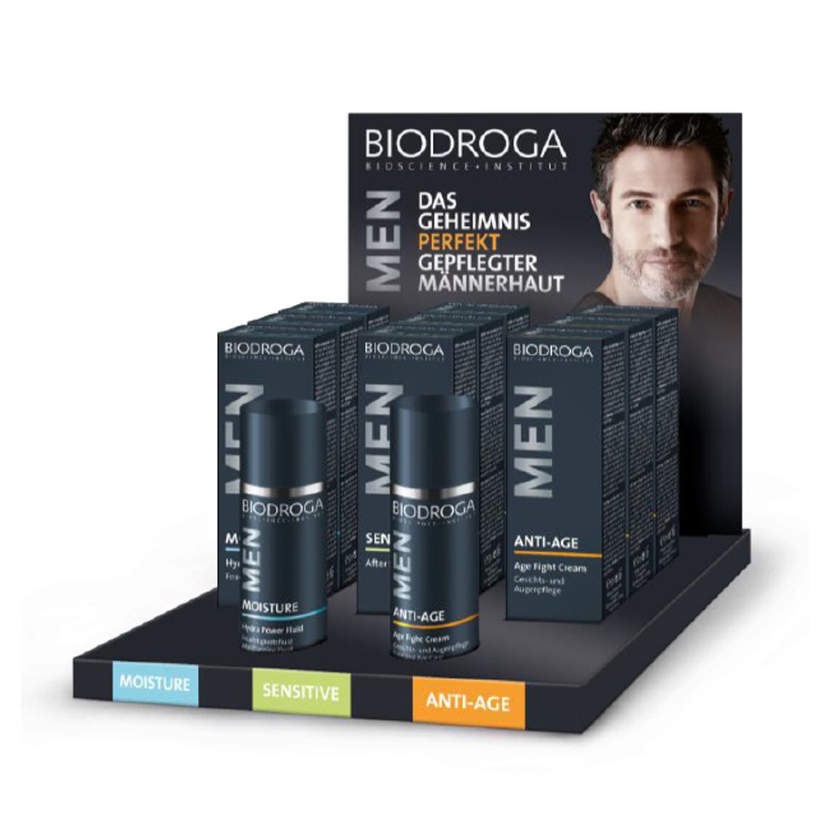 Biodroga Men's Line Display