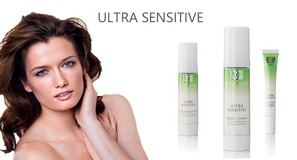 most sensitive skin care