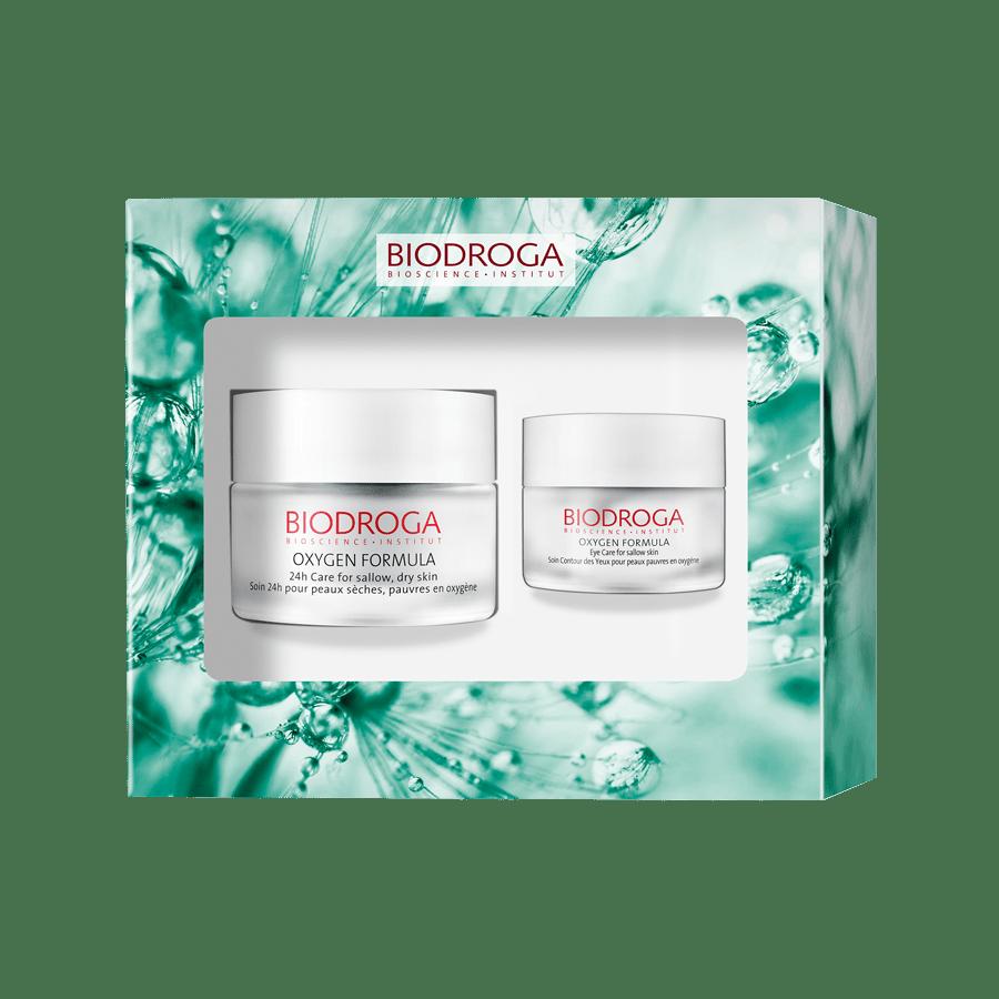 Biodroga Oxygen D&N Care Dry Skin W/Free Eye Cream