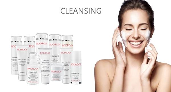 biodroga cleansing line