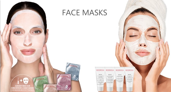 BIODROGA FACE MASKS